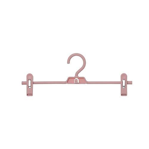 YUJJ Clip Kleiderbügel Hosen Kleiderbügel 5er Pack 34Cm Clip kann um 360 Grad gedreht Werden Ultra Thin Platzsparend für Clip...