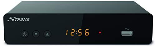 Strong Décodeur TNT Double Tuner Full HD Noir