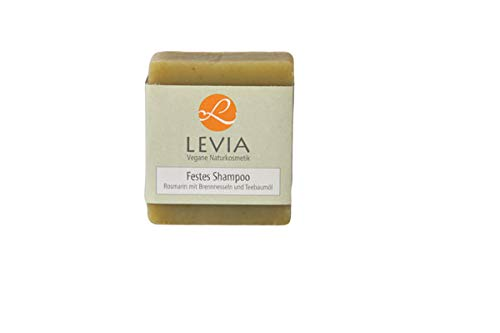 Levia vaste shampoo rozemarijn m. brandnetel en theeboomolie 100 g