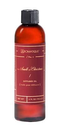 Aromatique SMELL OF CHRISTMAS Reed and Ceramic Diffuser Oil Refills - 4oz
