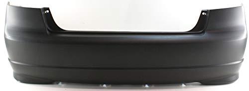 Garage-Pro Rear Bumper Cover Compatible with HONDA CIVIC 2004-2005 Primed 4-Door Sedan Japan/USA Built