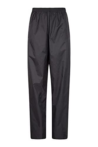 Mountain Warehouse Pakka Womens Waterproof Over Trousers - Packaway Bag,...