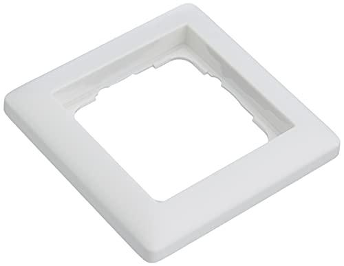 Gira 0211 04 Rahmen 021104 1fach Standard 55 reinweiss matt