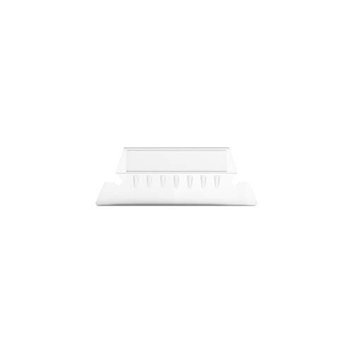 MyOfficeInnovations 380435 Plastic Tabs, 2 x 5/8, Clear, 50/PK (10987/380435)