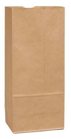 Grocery Bag Flat Bottom Shorty Chicago Mall 2021 new 20# Pk500 Brown