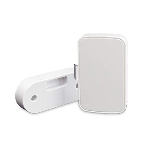 YHLVE Cerradura de Seguridad inalámbrica Inteligente para cajones, Cerradura Inteligente con Bluetooth Compatible con el desbloqueo de Aplicaciones Android/iOS, Adecuada para el hogar y la Oficina