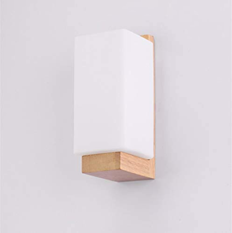 BAIJJ Wandleuchte Persnlichkeit Schlafzimmer Nachttischlampe, Gummi Holz Holz Wandleuchten, kreative TV Wand Holz Wand Spot Licht, Log Wohnzimmer Lampe (Anzahl der Einheiten  110V)