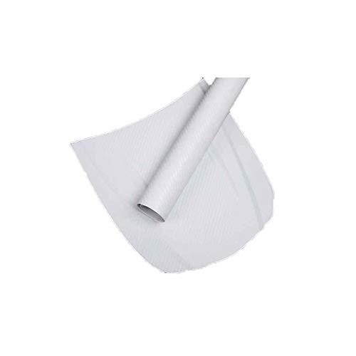 Qinghengyong 3D-Carbon-Faser-Auto-Film Adhesive Auto-Verpackungs-Aufkleber Autoverpackungs-Carbon-Blatt-Rolle, DIY Abziehbild-Dekor Hochglanz Wasserdicht