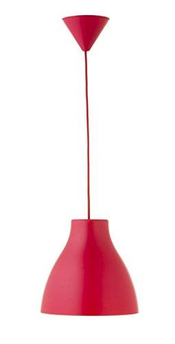 Els Banys Pop - Suspension de plafond PVC avec fil couleur combinée, couleur rouge