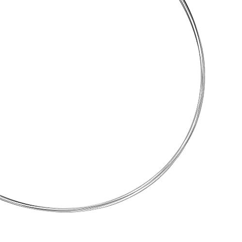 Heideman Halskette Damen Linea 5 aus Edelstahl Silber farbend matt Kette für Frauen mit Doppeclip Verschluss Collier für Charms und Schmuck Anhänger Länge 45cm