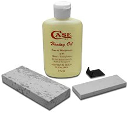 CASE XX Arkansas Stone Sportsman's Sharpening Kit Kit Kit with Honing Oil for Pocket Knives B00MTXLOXS | Guter weltweiter Ruf