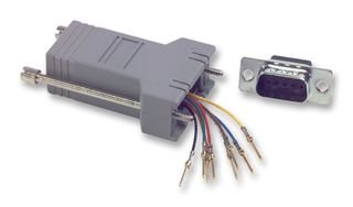 Best Price Square Adaptor, DB9 Jack - RJ12 Jack SPC19787. Pack of 5 by MULTICOMP