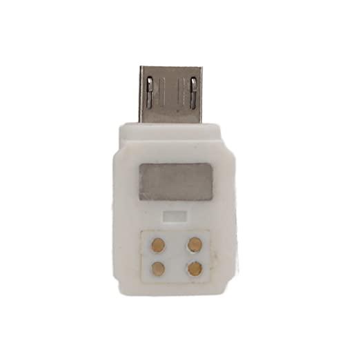 T opiky Adattatore Positivo Micro USB, Adattatore per Smartphone Connettore per Cellulare Adattatore Positivo Micro USB Portatile, per Fotocamera Gimbal per DJI Osmo Pocket 2
