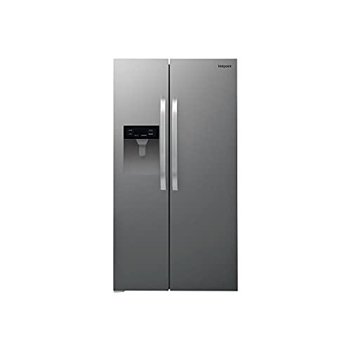 Hotpoint SXBHE 924 WD (UK) 1 American Fridge freezer, Stainless Steel Look