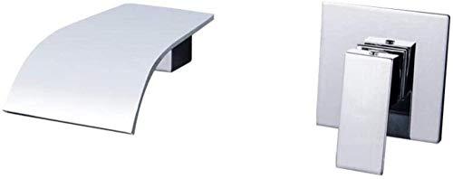 Grifo de la cocina grifo del baño inodoro inodoro inodoro inodoro incorporado cobre giratorio grifo de la bañera caja de cascada grifo de pared caliente y frío