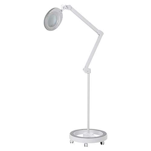 LED フロアスタンド 拡大鏡ライト [ 拡大鏡 拡大ライト 拡大レンズ LEDライト アームライト アームルーペ 電気スタンド LED スタンド ライト ランプ ルーペ ]