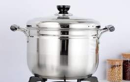 EHLA Acier inoxydable de 1 couche vapeur à une seule couche, vapeur multi-usages, commun for cuiseur électromagnétique de marmite intérieur