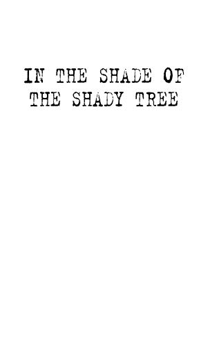 Image of In the Shade of the Shady Tree: Stories of Wheatbelt Australia