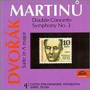 Dvorak: Suite in A Major, American, Op. 98b / Martinu: Double Concerto