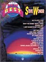 The New Best of Stevie Wonder: Piano/Vocal/Chords