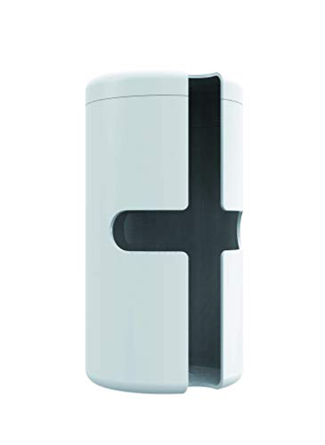 オーエ キッチンペーパーホルダー 白 約縦25.5×横12.5×高さ12.5cm スマートホーム II 置き式 シンプル 水ハネ 守る 日本製