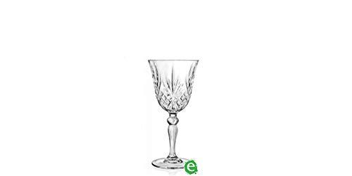 RCR Cristalleria Italiana S.p.a. Melodia Confezione 6 calici, Vetro, Trasparente