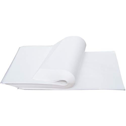 STOBOK 500 fogli carta da lucido carta da disegno traslucido carta da stampa stampabile carta da disegno fumetti carta tradizionale animazione 18x26cm (bianco)