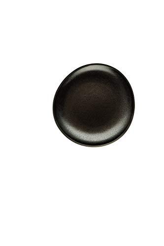 Rosenthal 21540-405251-60256 Junto - Slate Grey - Teller - Kuchenteller - Dessertteller - flach - Steinzeug - Ø 16 cm