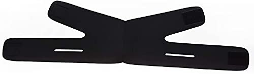 LXNQG Facial BandageFace Adelgazar Vendaje v Line Cheek Chin Cuello Cuello Shaper Masaje Correa cinturón relajación Levantamiento Anti Arrugas Cuidado de la Piel Belleza Negro (Color : Black)