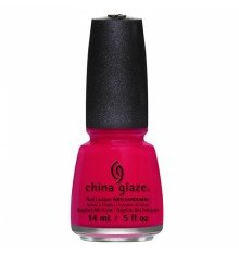 China Glaze Nail Lacquer with Hardner - Collection Off Shore - Sea's The Day, 1er Pack (1 x 14 ml)