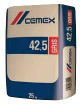 Saco cemento gris 42,5 R 25 kg