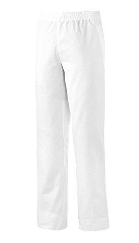 BP 1645-400-21-Ls Unisex-Hose, mit Gummizug in der Taille, 215,00 g/m² Stoffmischung, weiß, Ls