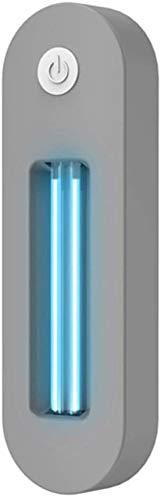 UV-Sterilisator für WC, Toiletten-Toiletten-Sterilisator, ultraviolette Keimtötung für Toiletten, Mülleimer, Kleiderschrank, Schuhbox, Schublade, Mülleimer, Bano Farbe Grau