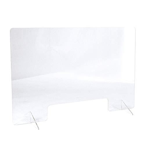 【MRG】アクリル パーテーション 卓上 透明 窓付き