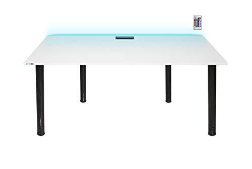 SyberDesk Gaming Desk mit LED für Gamer