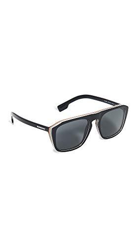 BURBERRY Gafas de Sol BE 4286 BLACK/GREY 55/19/145 hombre