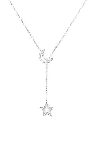 Diamond Lariat Style Necklace