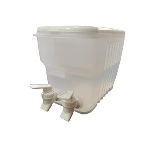 ARTOCT Dispensador de Bebidas de 3.5L con Grifo Dula, refrigerador Hervidor frío Tetera de Frutas Recipiente de Agua Multiusos Refrigerador sin Fugas Dispensador de Agua para Hacer tés y jugos