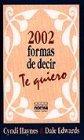 2002 formas de decir te quiero