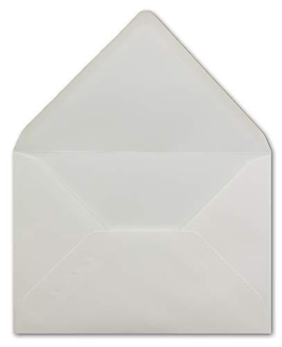 50 DIN C5 Briefumschläge champagner-farben - 22,0 x 15,4 cm - 110 g/m² Nassklebung Post-Umschläge ohne Fenster ideal für Weihnachten Grußkarten Einladungen