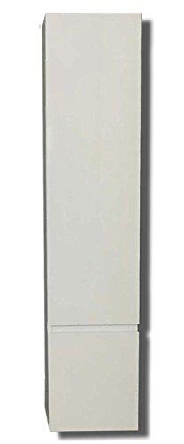 Colonna pensile bianca h130 cm - armadio per bagno