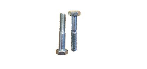 40 Stück SKT-Schraube 8 x 45mm DIN 931 Festigkeit 10.9 galv. verzinkt