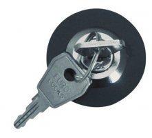 Steckdosenschloss mit 2 Schlüsseln - Schutz vor Energiediebstahl