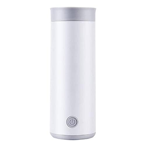 STYO Bollitore Elettrico Portatile, Mini Scaldabagno da Viaggio da 400 Ml, Bollitore Elettrico Plug-in A Bassa Potenza, Tazza di caffè con Latte Caldo