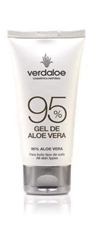 Verdaloe - Gel de Aloe Vera 95% - Presentación 250 ml - Hidratante - Nutritivo y Regenerador - Antioxidante - Fabricado en España - Plantaciones Ecológicas - Cosmética Natural