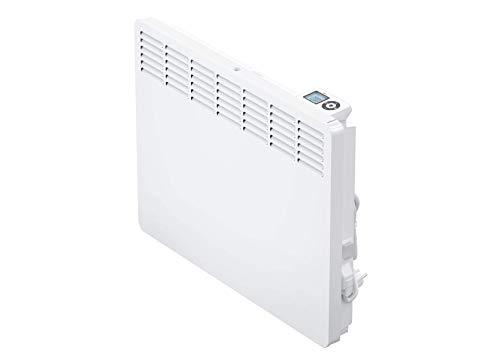 AEG casa Technik 236534parete Termoconvettore WKL 1505per circa 15m², Riscaldamento 1500W, 5–30gradi C, da appendere a parete, Display LCD, Timer settimanale, Metallo, colore: bianco