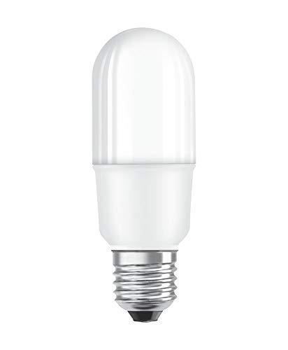 OSRAM STAR STICK Lampadina LED, Attacco: E27, Bianca Calda, 2700 K, 8 W, Equivalenti a 75W, Opaco, LED STAR STICK, Opaco, Taglia Unica
