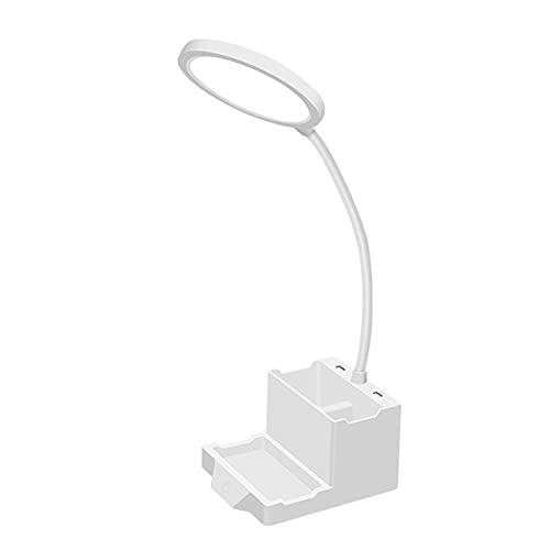 LáMpara de Escritorio LED Flexo TáCtil USB Niveles de Brillo Regulable y Color ProteccióN Ocular Lectura Estudio Escritorio,