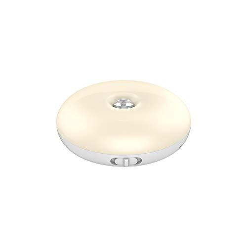 Tglabayun Luce notturna con sensore a infrarossi a LED, luce notturna a induzione automatica del corpo umano ricaricabile USB 1000mAh, appendibile, utilizzata in guardaroba, comodino, corridoio