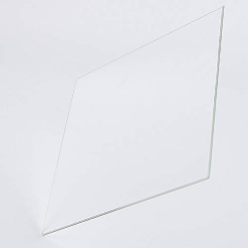 Placa de vidrio de borosilicato de 310 mm x 320 mm x 4 mm con bordes pulidos para impresora 3D Creality CR-10S Pro